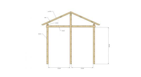 casetta-attrezzi-A-struttura-fronte
